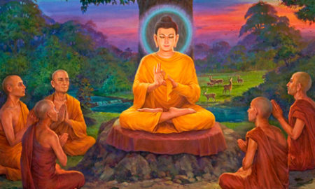 how buddha taught meditation to Ananda