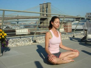 Hopefully - you can meditate any time, any where.  Simply chose to focus.