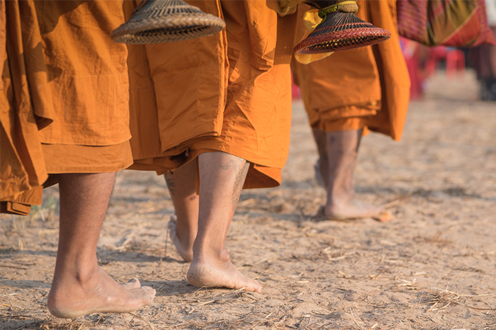 """""""Walk as if you are kissing the Earth with your feet."""" ― Thich Nhat Hanh"""